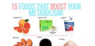 新陳代謝UP15種類の食べ物
