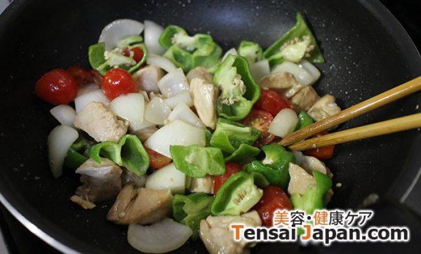 鶏胸肉の酢豚風ヘルシーレシピ