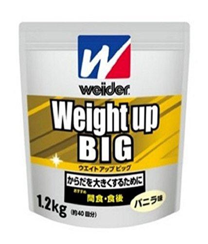 ウイダー ウエイトアップビッグ バニラ味 1