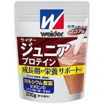 ウイダー ジュニアプロテイン ココア味 4