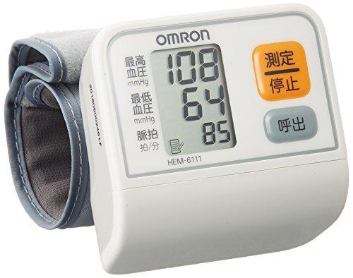 オムロン 電子血圧計 手首式 HEM-6111 1
