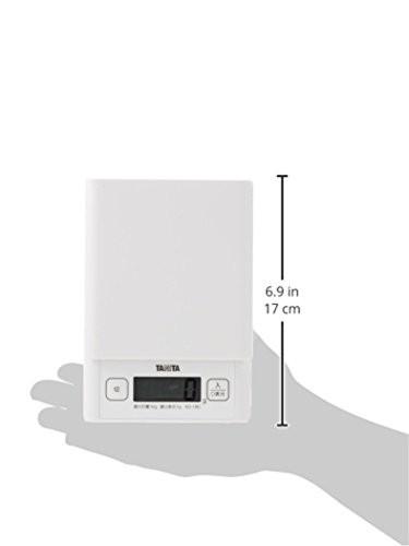 タニタ デジタルクッキングスケール 1kg ホワイト KD-180-WH11