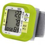 ドリテック 60回メモリー付 手首式血圧計 BM-100 限定カラー グリーン