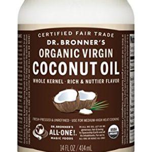 Dr.ブロナーバージンココナッツオイル USDA(米国農務省)認定 オーガニック&フェアトレード 414ml 11