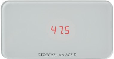 KYOWA パーソナルミニスケール B5用紙より小さい体重計(130kgまで) PS-130WH ホワイト 1