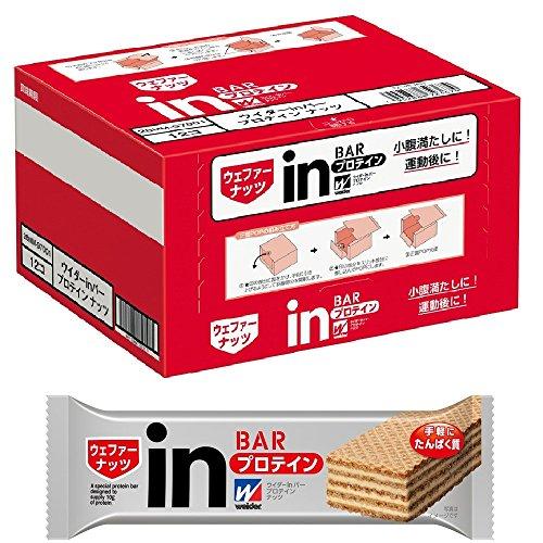 ウイダーinバー プロテイン ナッツ (12本入×1箱) 1