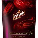 バンホーテン・ヴァンホーテン NEW エキストラダークチョコレート 70% 1kg チャック付き袋 20