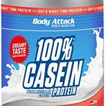 Body Attack Strawberry Cream 900g Casein Protein by Body Attack
