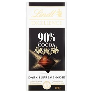 Lindt Excellence Dark Chocolate Supreme - 90% Cocoa (100g) 最高のリンツエクセレンスダークチョコレート - 90%のココア( 100グラム)