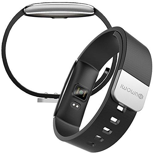 【日本公式ライセンス取得商品】日本語対応 PMJ iWOWNfit i6 Pro ((アップデート対応版)) 活動量計 スマートブレスレット〔iPhone&Android対応〕/24時間自動測定・健康サポート・歩数計・心拍計・睡眠計・有機EL・IP67防水防塵・Bluetooth4.0/日本語アプリ管理・日本語ガイド・1年間保証書完備≪国内操作設定サポート付き≫