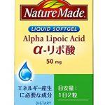 大塚製薬 ネイチャーメイド α-リポ酸 60粒 6